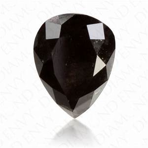 3.27 Carat Pear Shape Natural Fancy Black Diamond   Loose ...