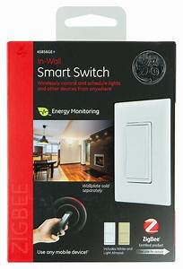 Ge In-wall Smart Switch White 45856ge
