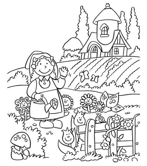 Dibujos De Naturaleza ® Para Colorear E Imprimir