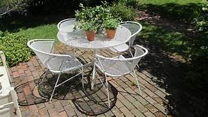 Furniture: Vintage Patio Furniture And Accessories With