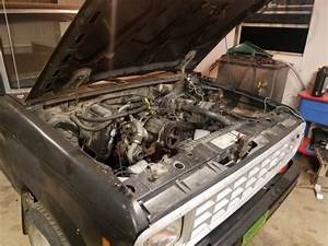 1986 Ford Ranger Turbo Diesel 5 Speed Factory 4d55t 4d55