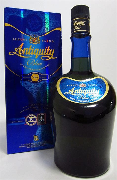 antiquity blue ultra premium whisky ml spg  buy