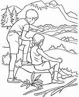 Coloring Pages Summer Season Hiking Park Drawing Parks State Sheets Arbor National Seasons Printables Colouring Usa Printable Honkingdonkey Activity Preschool sketch template