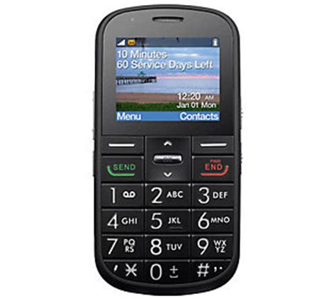 qvc prepaid cell phones big easy tracfone prepaid cell phone w large 400