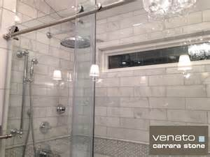 carrara venato 4 12 subway tile for flooring the builder depot blog