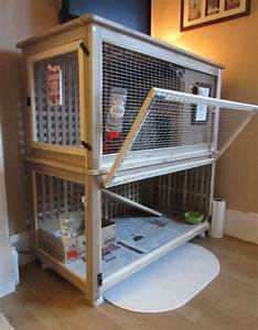 The Bunny Palace (indoor rabbit cage) - IKEA Hackers