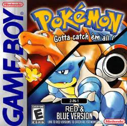 Game Boy Pokemon Red and Blue