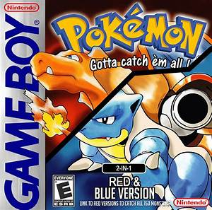 Pokemon Red-Blue 2-in-1 - GB ROM | Complete ROMs