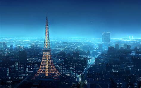 Anime Japan Wallpaper - anime tokyo tower shirosaki otoha japan wallpapers hd