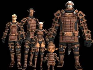 Brass Scale Armor Set - FFXIclopedia, the Final Fantasy XI