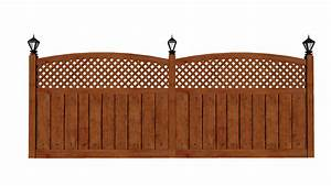 Wooden fence by fiveaxiomsinc   3DOcean