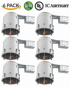 Remodel Led Recessed Can Lighting - 6 Inch
