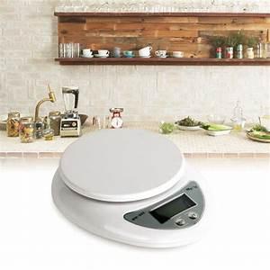 1pcs 5kg 5000g/1g Digital Kitchen Food Diet Postal Scale ...
