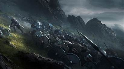 4k Viking Fantasy Army Wallpapers Vikings Monitor