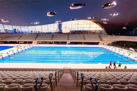 london aquatics centre  olympics pool  zaha hadid