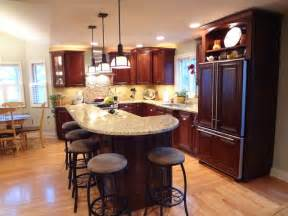 kitchen islands with seating for 2 buffalo grove kitchen with 2 tier island traditional kitchen chicago by trilogy kitchens