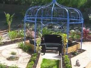 gloriette en fer forge youtube With gloriette de jardin en fer forge 11 gloriette bois