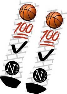 Emoji Basketball Socks