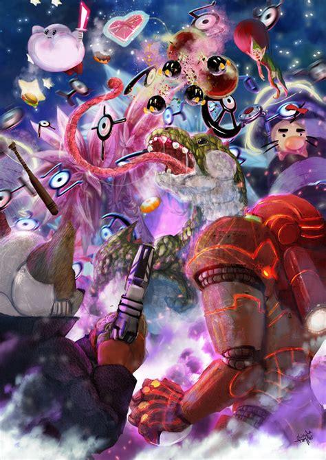 Super Smash Bros Melee By Enigmasystem On Deviantart