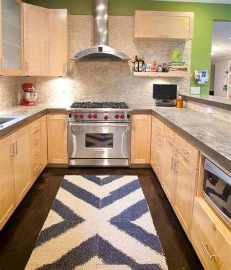 contemporary kitchen rugs kitchen rug ideas nay or yea homesfeed 2510