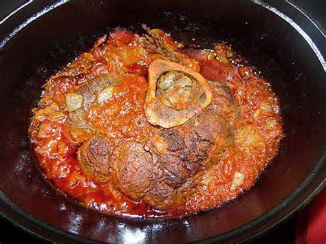 recette de jarret de boeuf 224 la tomate au four