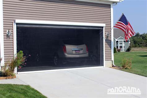 retractable garage door screen retractable garage screens smalltowndjs