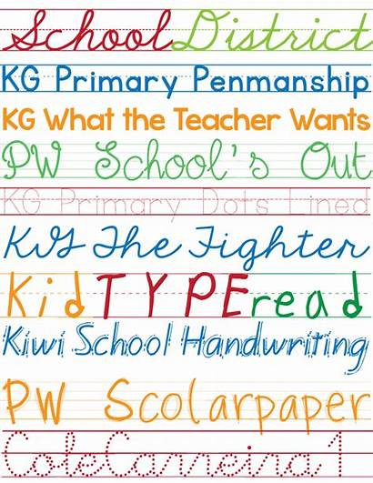 Fonts Handwriting Kid Font Favorite Teacher Script