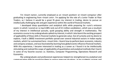 Derivatives Trader Cv by Trainee Commodities Trader Cover Letter Totally Free