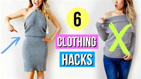 6 Clothing Hacks Every Girl Must Know For Spring! Youtube