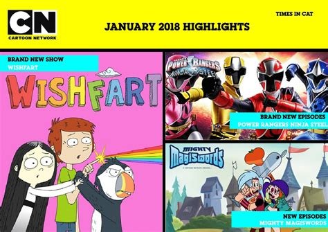 anime channel 2018 network africa and boomerang africa january 2018