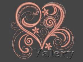 Free Heart Machine Embroidery Designs Download