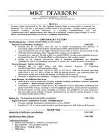 executive recruiter resume objective human resources executive resume
