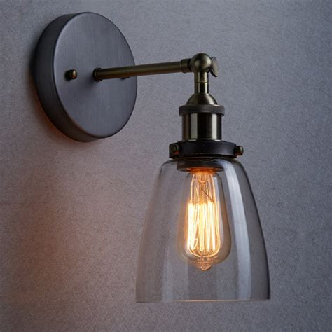 marvelous industrial wall l industrial wall sconce