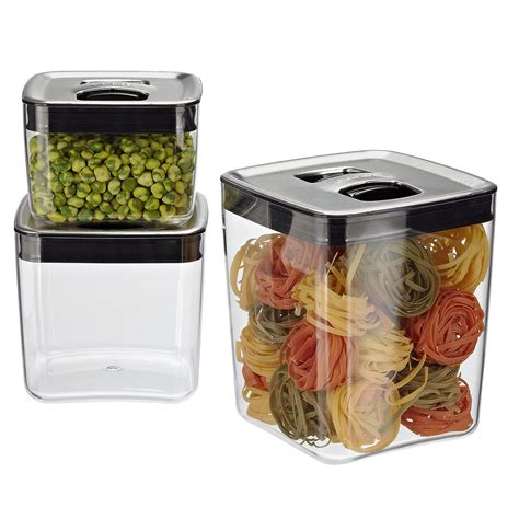 kitchen storage bin food storage containers airtight storage jars 3122