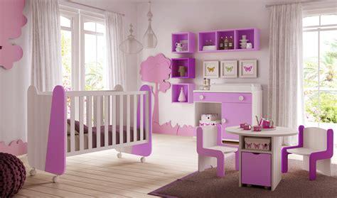 chambre bébé violet chambre de bébé fille avec lit design et colorée glicerio