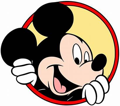 Mickey Mouse Clip Disney Drawing Disneyclips Circle