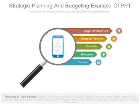 strategic planning  budgeting