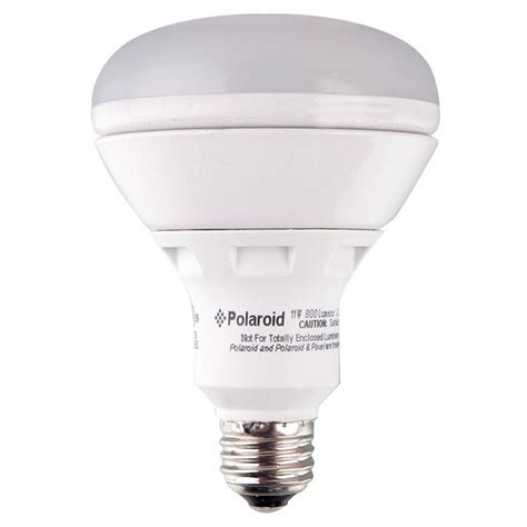 polaroid lighting 75w equivalent bright white 3000k br30