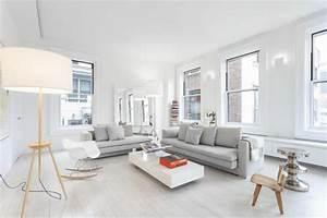 Grau Weiße Couch : 1001 wohnzimmer ideen die besten nuancen ausw hlen ~ Michelbontemps.com Haus und Dekorationen
