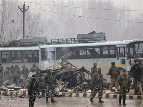 37 Crpf Personnel Killed In