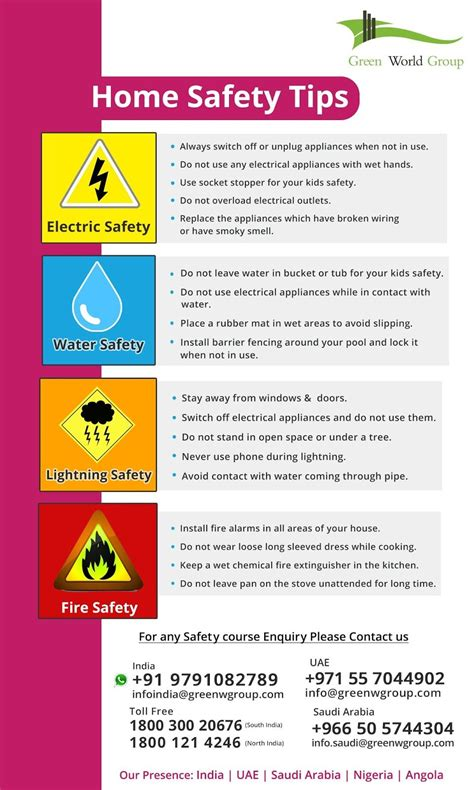 general home safety tips home safety tips