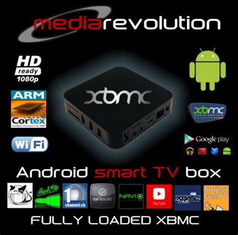 xbmc for android android midnight xbmc smart tv box which media