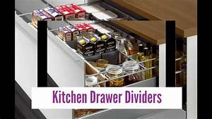 Excellent Kitchen Drawer Dividers YouTube