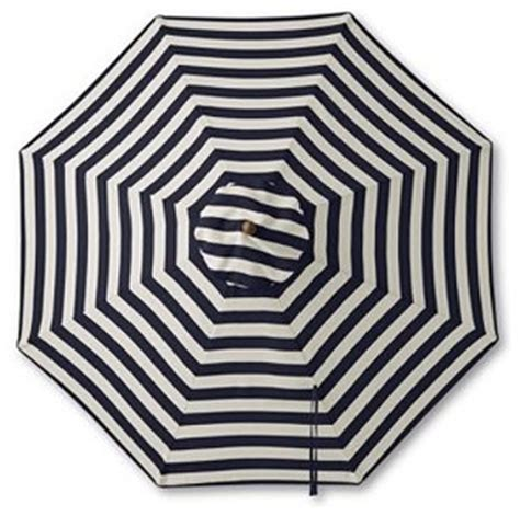 teak stripe market umbrella traditional outdoor