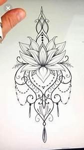 Dessin Fleurs De Lotus : fleur de lotus dessin mandala depu vi ~ Dode.kayakingforconservation.com Idées de Décoration