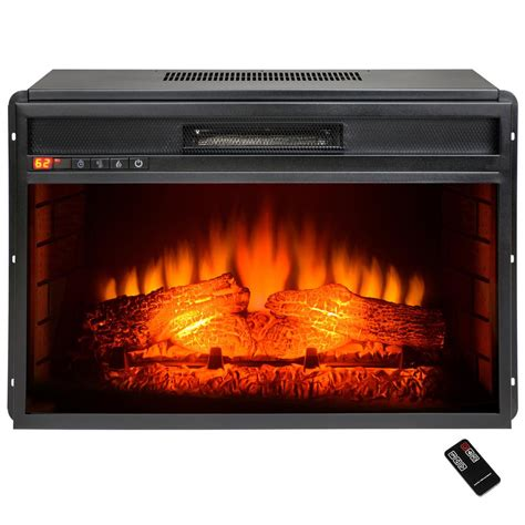 electric fireplace insert akdy 23 in freestanding electric fireplace insert heater