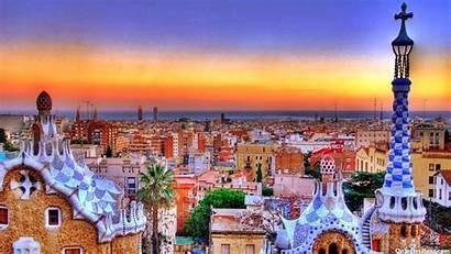 Barcelona Spain Desktop Wallpapers 4k