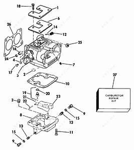 Johnson 1984 140 - J140txcrd  Carburetor