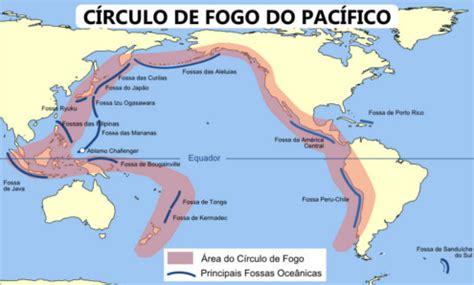 oceano pacifico mapa