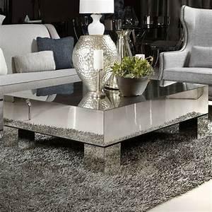 best 25 mirrored coffee tables ideas on pinterest glam With silver mirrored coffee table
